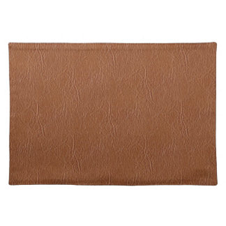 Brown Leather Texture Placemat