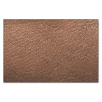 Brown leather texture tissue paper