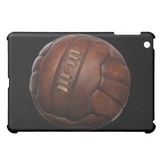 Brown Leather Volleyball Ball iPad Case