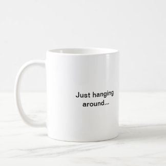 Brown Leaves Coffee Mug