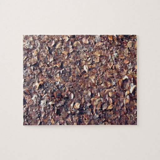 Brown Leaves Texture Jigsaw Puzzles
