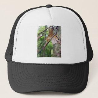 Brown Leaves Trucker Hat