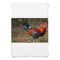 Brown Leghorn Rooster iPad Mini Case