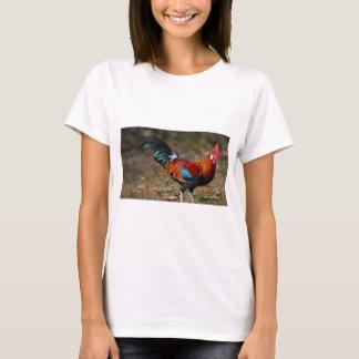 Brown Leghorn Rooster T-Shirt