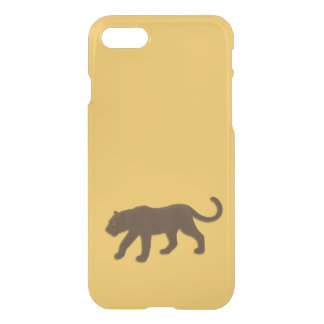 Brown Leopard Gold iPhone 7 Case