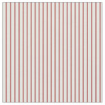 [ Thumbnail: Brown & Light Yellow Colored Stripes Fabric ]