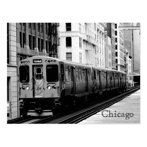 Brown Line Post Cards