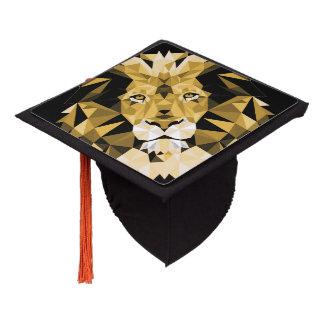 Brown Lion Graduation Cap Topper