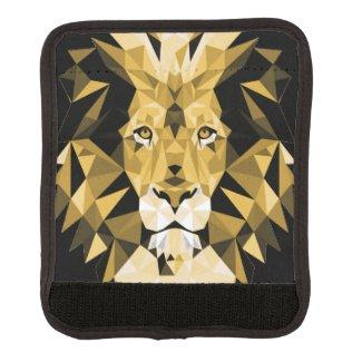 Brown Lion Luggage Handle Wrap