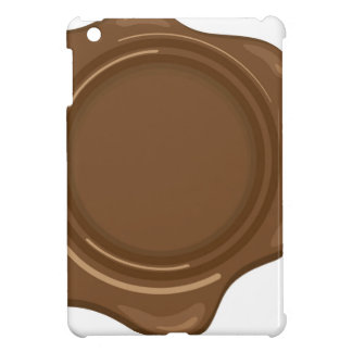 Brown liquid wax seal vintage case for the iPad mini