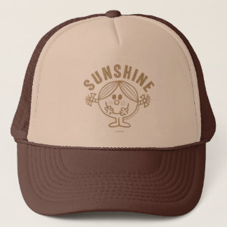 Brown Little Miss Sunshine Trucker Hat