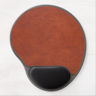 Brown Look of Leather Gel Mouse Pad