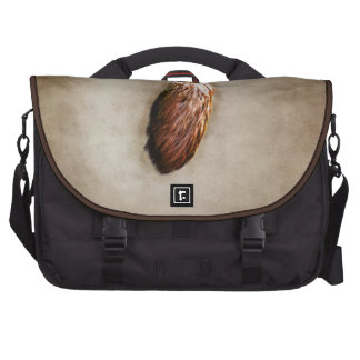 Brown Lucky Rabbit s Foot Bag For Laptop