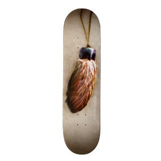 Brown Lucky Rabbit's Foot Skate Deck