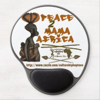 Brown Mama Africa Gel Mousepad