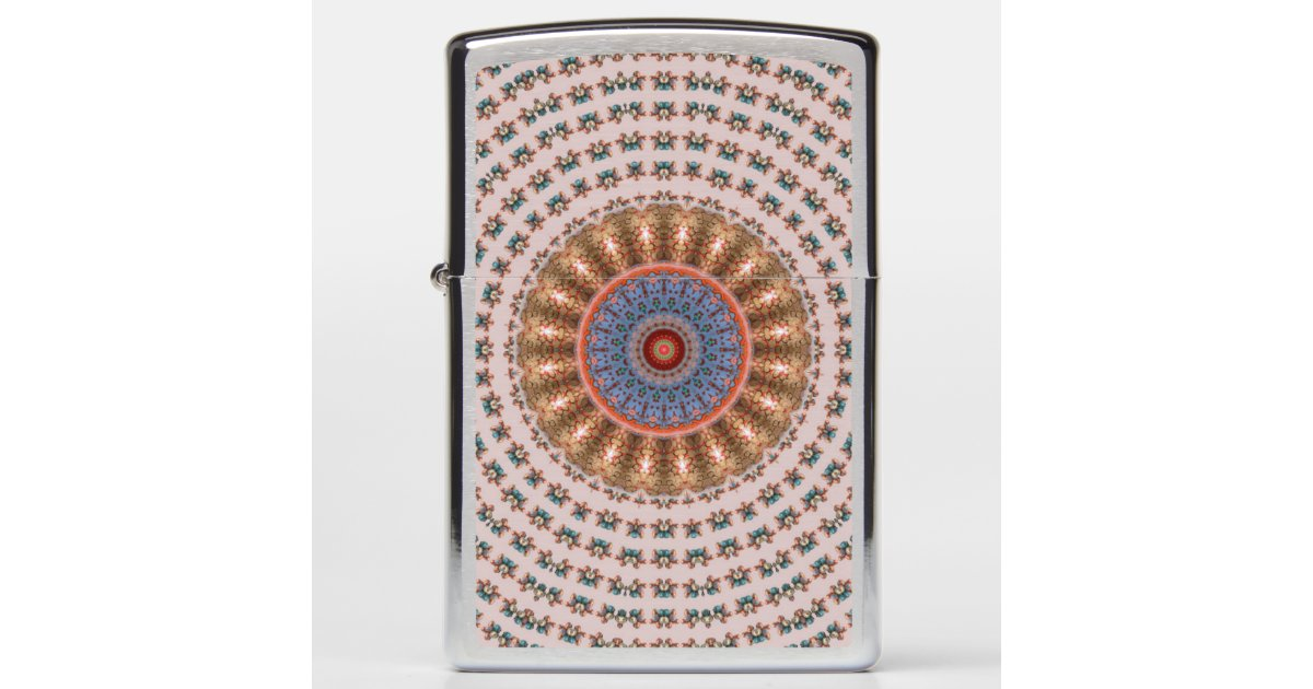 Brown Mandala Wheel... Zippo Lighter | Zazzle.com