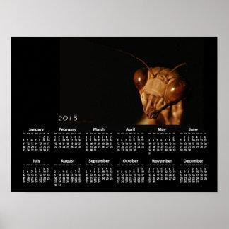 Brown Mantis calendar ~ print