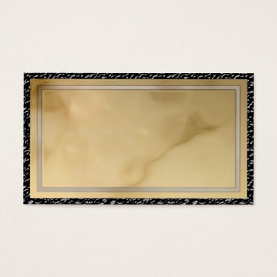 brown marble business card