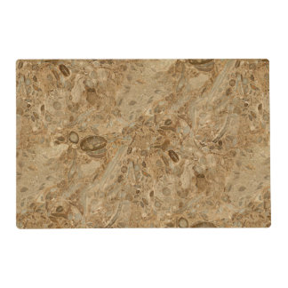 Brown Marble Fossil Look Placemat