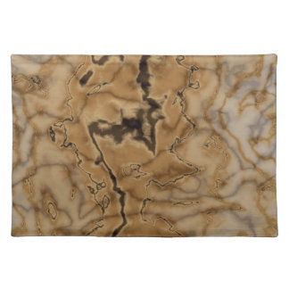 Brown Marble Texture Cloth Placemat