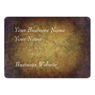 Brown marbled grunge texture large business cards (Pack of 100)