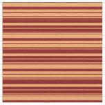 [ Thumbnail: Brown & Maroon Pattern Fabric ]