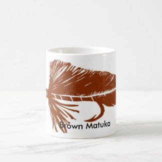"""Brown Matuka"" Classic Trout Fly Mug"