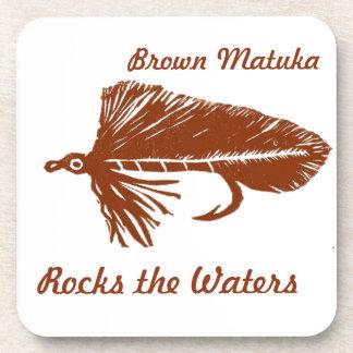 """Brown Matuka"" Streamer Fly Coaster"