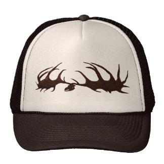 Brown Megaloceros Skull Hat