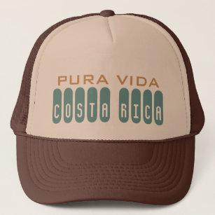 Brown Men s Costa Rica Souvenir Pura Vida Trucker Hat 6d5f6c50212