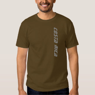 Brown Men's Costa Rica T-shirt