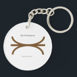 "Brown Merger Keychain<br><div class=""desc"">A keychain with the brown merger archetype. Take it with you everywhere as a visual aid!</div>"