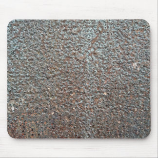 Brown Metal Corrosion Pattern Mouse Pad
