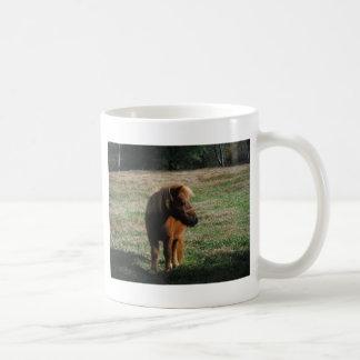 Brown Miniature Horses Coffee Mug