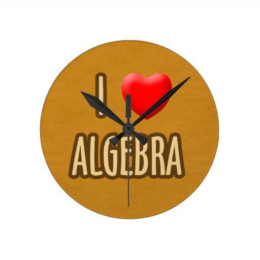 BROWN MODEL - I LOVE ALGEBRA RELOJ