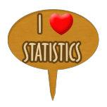 BROWN MODEL - I LOVE STATISTICS FIGURA PARA TARTA