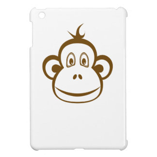 Brown Monkey Face Cover For The iPad Mini