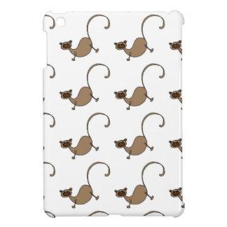 Brown monkey iPad mini cover