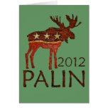 Brown Moose Greeting Card