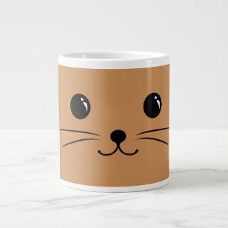 Brown Mouse Cute Animal Face Design Giant Coffee Mug