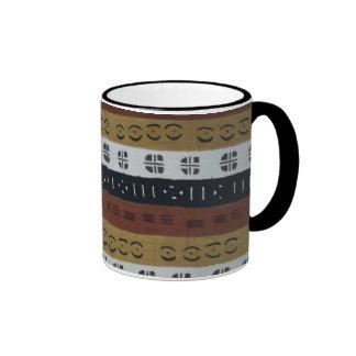 Brown Mudcloth Mug