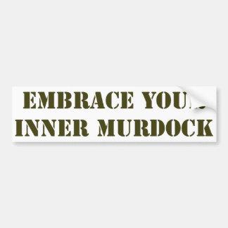Brown Murdock Bumper Sticker