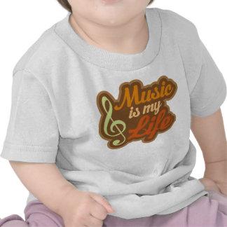 Brown Music Is My Life Tees
