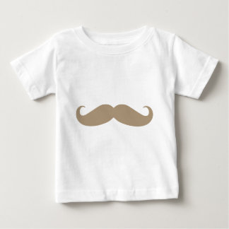 Brown Mustache from iHeartCandi Baby T-Shirt