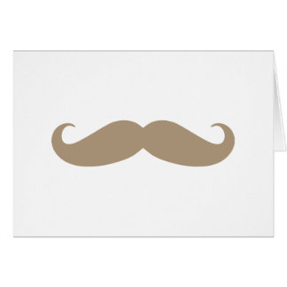 Brown Mustache from iHeartCandi Card