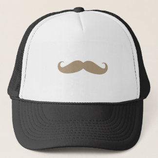 Brown Mustache from iHeartCandi Trucker Hat