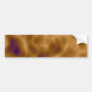 Brown Mystic Camo Bumper Sticker
