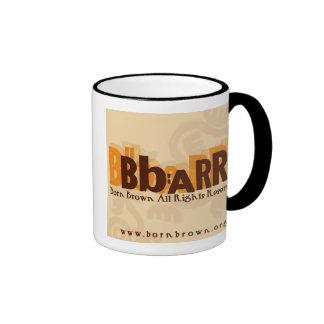 Brown nacido: Todas las derechas Reserved® Taza De Café