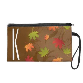 Brown, naranja, rojo, y otoño del verde, hojas de