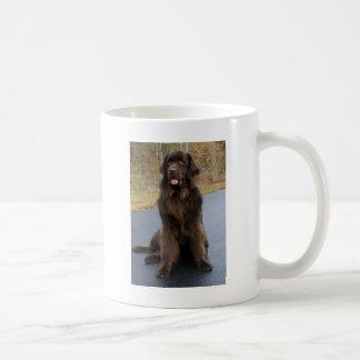 Brown Newfie Coffee Mug